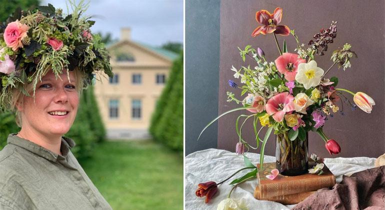 Studiebesök hos Fridas Blomster